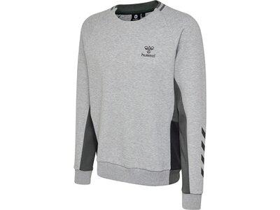 HUMMEL Herren Sweatshirt MAESTRO Silber
