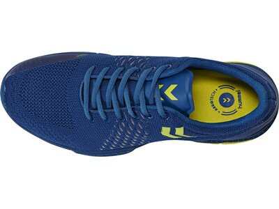 HUMMEL Herren Handballschuhe AEROCHARGE ENGINEERED STZ Blau