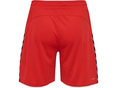 HUMMEL Herren Shorts AUTHENTIC Rot