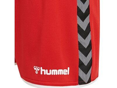 HUMMEL Kinder Shorts UTHENTIC Rot