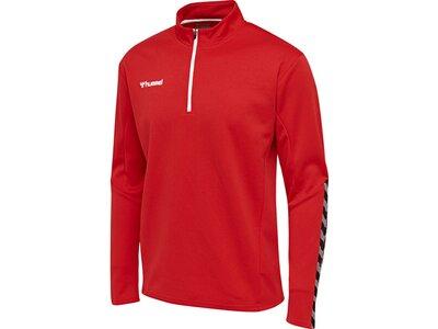 HUMMEL Fußball - Teamsport Textil - Sweatshirts Authentic Ziptop Kids Rot