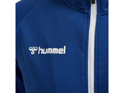 HUMMEL Herren Sweatshirt AUTHENTIC POLY ZIP Blau