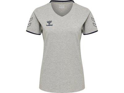 HUMMEL Damen Shirt CIMA Silber