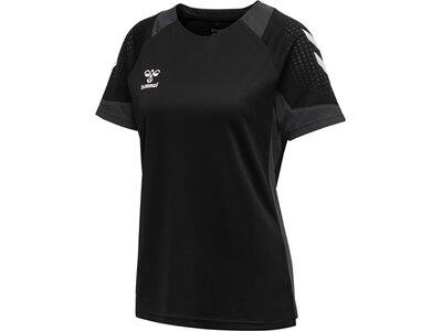 HUMMEL Herren Shirt LEAD S/S POLY JERSEY Schwarz