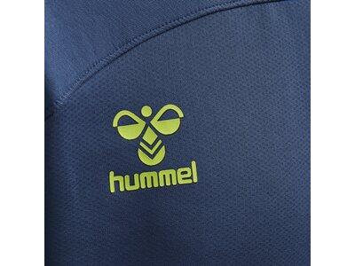 HUMMEL Herren Sweatshirt hmlLEAD HALF ZIP Blau