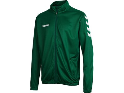 HUMMEL Poly Trainingsjacke CORE POLY JACKET Grau