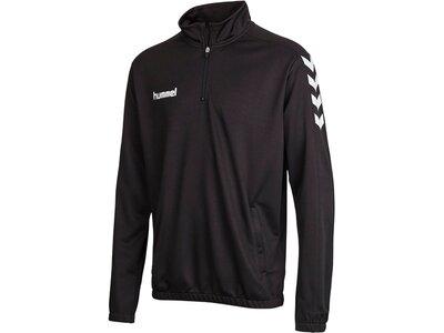 HUMMEL Half-Zip Sweatshirt CORE 1/2 ZIP SWEAT Schwarz