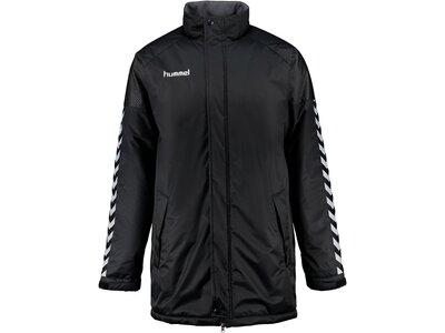 HUMMEL Fußball - Teamsport Textil - Coachjacken Authentic Charge Stadium Jacket Kids Schwarz