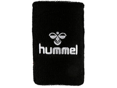 HUMMEL Großes Armschweißband OLD SCHOOL BIG WRISTBAND Schwarz