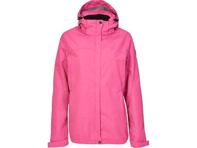 Killtec Damen Funktionsjacke mit abzippbarer Kapuze-Inkele Pink