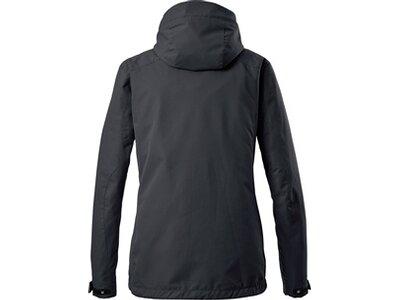 Killtec Damen Funktionsjacke mit abzippbarer Kapuze-Inkele Schwarz