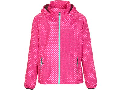 KILLTEC Kinder Regenjacke Kanani Jr Allover Pink