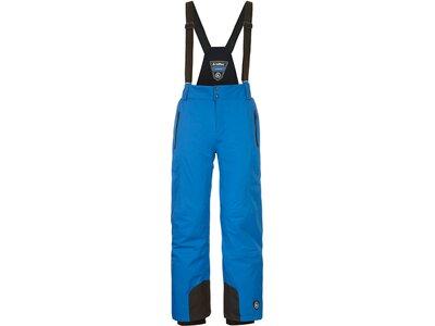 Killtec Funktionshose mit abnehmbaren Trägern, Kantenschutz und Schneefang Blau