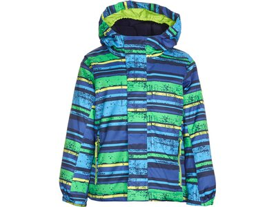 KILLTEC Kinder Funktionsjacke Stripy Mini Blau