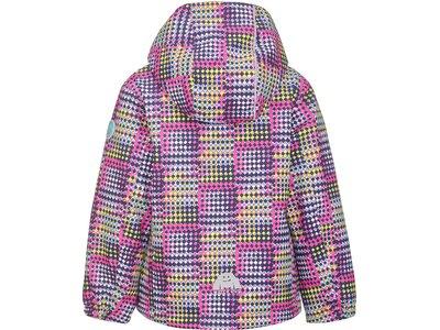 KILLTEC Kinder Funktionsjacke Stripy Mini Lila