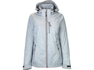 KILLTEC Damen Softshelljacke Julia Silber