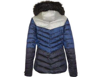 Killtec Damen Jacke in Daunenoptik mit abzippbarer Kapuze und Schneefang Blau