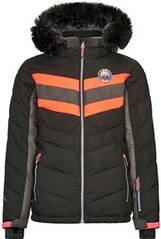Killtec Mädchen Jacke in Daunenoptik mit abzippbarer Kapuze und Schneefang