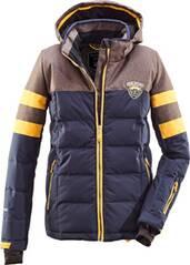 Killtec Jungs Jacke in Daunenoptik mit abzippbarer Kapuze und Schneefang
