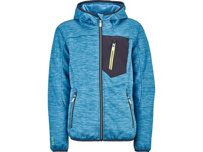 KILLTEC Kinder Strickfleecejacke Laerteso Jr Blau