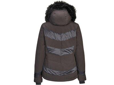 Killtec Damen Jacke in Daunenoptik mit abzippbarer Kapuze und Schneefang Schwarz