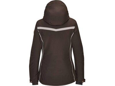 Killtec Damen Funktionsjacke mit abzippbarer Kapuze und Schneefang Schwarz