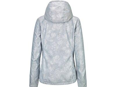 KILLTEC Damen Softshelljacke Barira Allover Silber