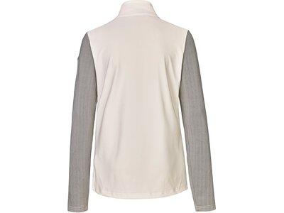Killtec Damen Powerstretchshirt mit Stehkragen und Reißverschluss Silber