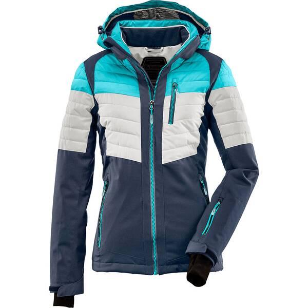 Killtec Damen Hybridjacke mit abzippbarer Kapuze und Schneefang