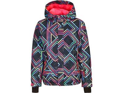 Killtec Mädchen Funktionsjacke mit Kapuze und Schneefang Pink