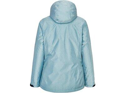 Killtec Damen Funktionsjacke mit abzippbarer Kapuze und Thermo print Grau