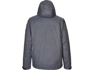 Killtec Funktionsjacke mit abzippbarer Kapuze Grau