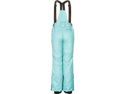 Killtec Mädchen Funktionshose mit abzippbarem Latz, Schneefang und Kantenschutz Blau