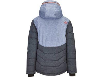 Killtec Jungs Funktionsjacke mit abzippbarer Kapuze und Schneefang Grau