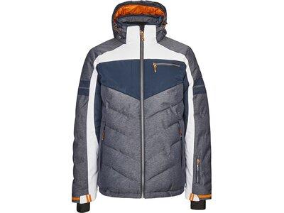 Killtec Jacke in Daunenoptik mit abzippbarer Kapuze und Schneefang Grau
