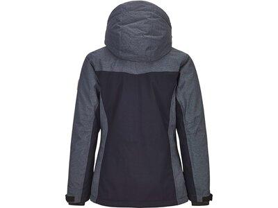 Killtec Mädchen Funktionsjacke mit abzippbarer Kapuze und Schneefang Schwarz