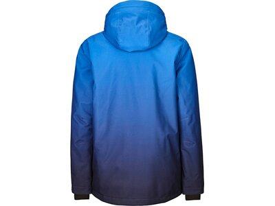 Killtec Kinder Funktionsjacke mit Kapuze und Schneefang Blau