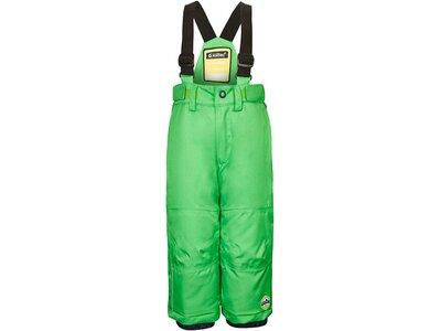 Killtec Funktionshose mit Trägern und Schneefang Grün