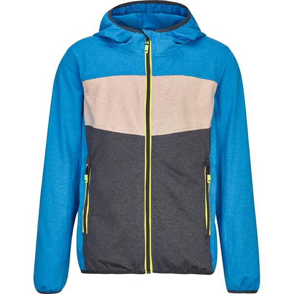 KILLTEC Kinder Powerstretchjacke Barrico Colourblock
