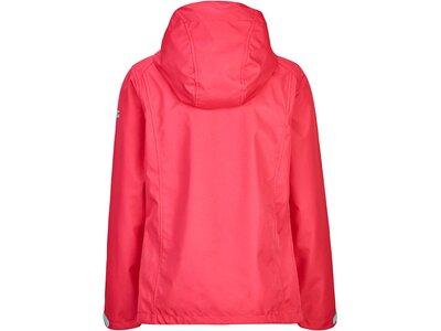 Killtec Mädchen Softshell Jacke mit Kapuze-Tanesha Jr Rot