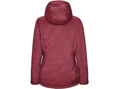 Killtec Damen Funktionsjacke mit abzippbarer Kapuze Rot