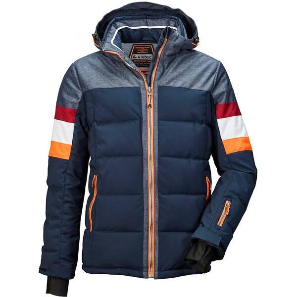 KILLTEC Herren Hybridjacke mit abzippbarer Kapuze und Schneefang Tirano