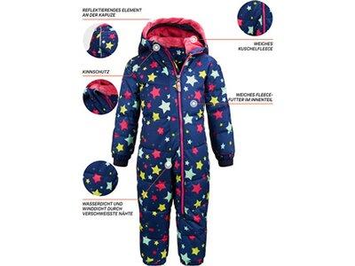 KILLTEC Kinder Overall Twinkly Blau