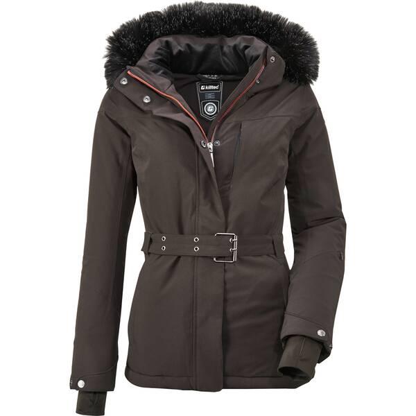 KILLTEC Damen Funktionsjacke mit abzippbarer Kapuze und Schneefang Wasilla