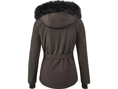 KILLTEC Damen Funktionsjacke mit abzippbarer Kapuze und Schneefang Wasilla Schwarz