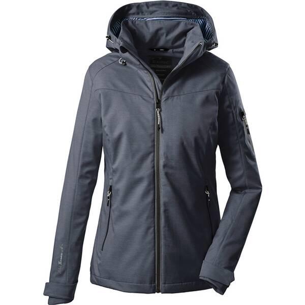 Killtec Damen Softshell Jacke mit abzippbarer Kapuze-Vojak WMN SOFTSHELL JCKT A