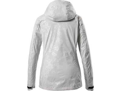 Killtec Damen Softshell Jacke mit abzippbarer Kapuze-Vojak WMN SOFTSHELL JCKT B Silber