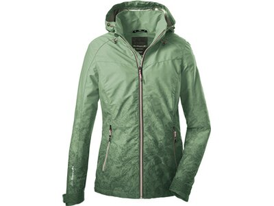 Killtec Damen Softshell Jacke mit abzippbarer Kapuze-Vojak WMN Softshell JCKT C Grün