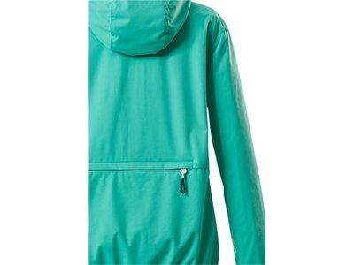 Killtec Damen Softshell Jacke mit Kapuze, packbar-Trin WMN SOFTSHELL JCKT Blau