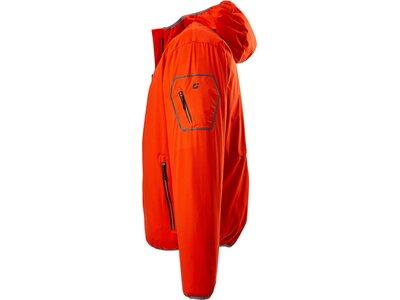 Killtec Softshell Jacke mit Kapuze, packbar-Trin MN SOFTSHELL JCKT Rot
